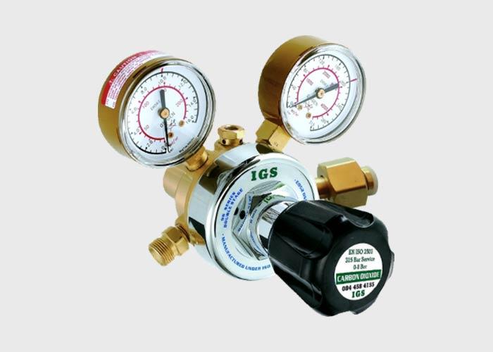 150 PSI Fixed Flow Non-Freezing Carbon Dioxide Piston Regulator